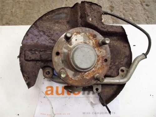Hub & upright, front, right hand, Mazda MX-5 mk2 with ABS, 255mm, r/h, USED